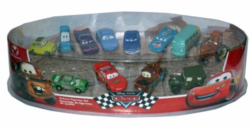 Disney Pixar Cars 12 Figurine Set w/ Mater Mcqueen Sarge - Buy Disney Pixar Cars 12 Figurine Set w/ Mater Mcqueen Sarge - Purchase Disney Pixar Cars 12 Figurine Set w/ Mater Mcqueen Sarge (Cars, Toys & Games,Categories,Play Vehicles,Vehicle Playsets)