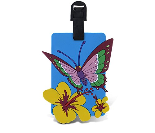 WeGlow International Fun Luggage Tag - Butterfly