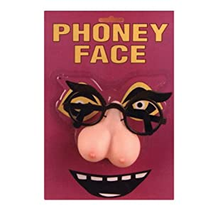Pipedream Products Phony Face Pecker Nose Glasses