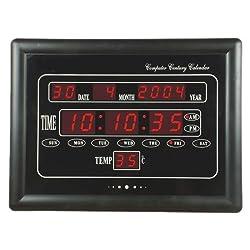 PANSIM Spy Digital Wall Clock Camera (24 hours Recording)