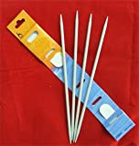 Set of Four Two-Point Knitting Pins (5 x 20)