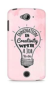 Amez Innovation is Creativity with a Job to do Back Cover For Acer Liquid Z530