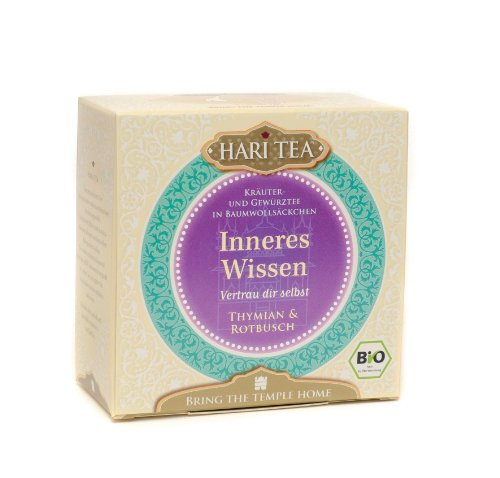 Hari-Tea-Inneres-Wissen-Vertrau-dir-selbst-Thymian-und-Rotbusch-2er-Pack-2-x-20-g-Bio