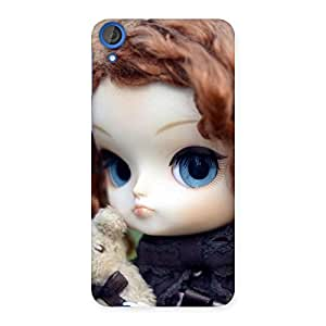 Gorgeous Teddy with Doll Back Case Cover for HTC Desire 820s