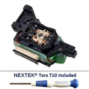 New - Microsoft Xbox 360 Slim Laser Lens - Liteon Dg-16D4S G2R (Hop-150X 15Xx 15Xb 150B 151) + Nextek® Torx T10 Security Screwdriver