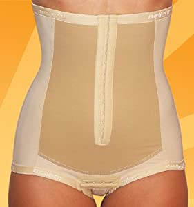 Postpartum Girdle Corset - C-Section Recovery, Incision Healing, Compression Abdominal Binder - Medical-Grade Bellefit Corset