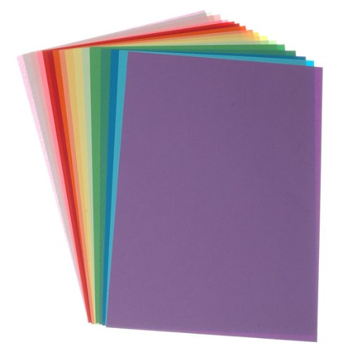 Coloured Paper A4 - 16 Pk