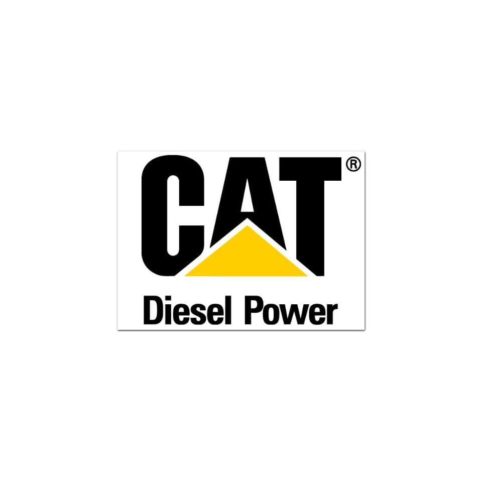 Cat diesel power caterpillar car bumper sticker decal 4 5
