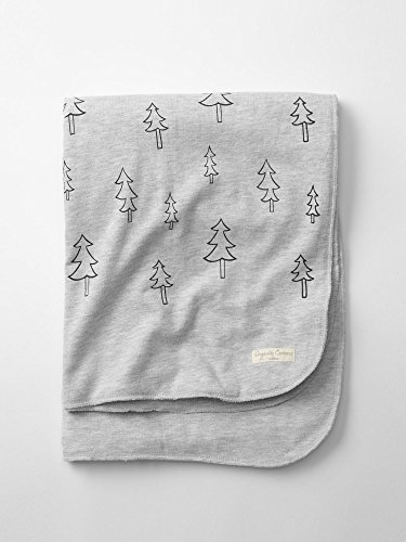 Gap Organic Christmas Tree Stroller Blanket Size One Size