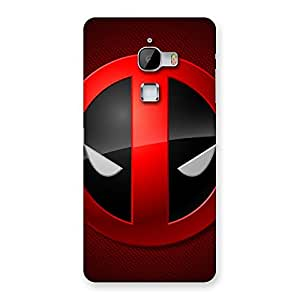 Dead Eye Round Red Back Case Cover for LeTv Le Max