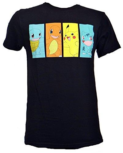Pokemon Classic Blocks T-shirt (Small, Black)