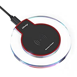 [Upgraded] Wireless Charger, LDesign Wireless Charging Pad Station for Samsung Galaxy S6/S6 Edge/S6 Active, Note 5, Nexus 7/6/5/4, Nokia, HTC, Motorola, LG, SONY and More
