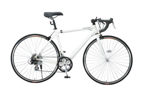700Cロードバイク 軽量アルミフレーム 14段変速 LG-RD7014-500 ホワイト