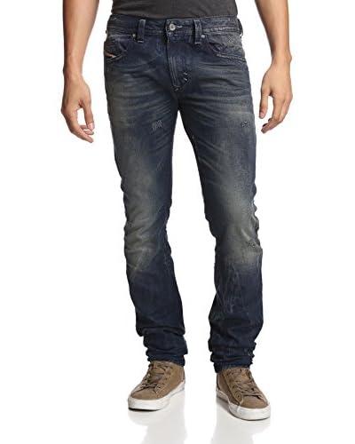 Diesel Men's Skinny Fit Thavar 5 Pocket Jeans