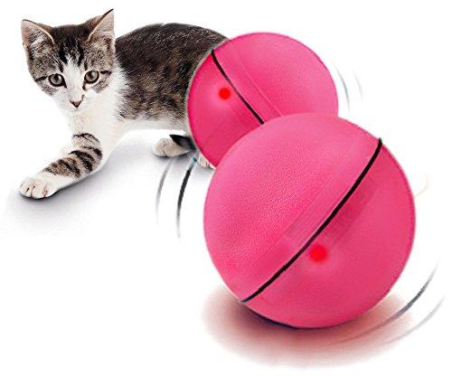 Yogadog Electronic Cat Toys Magic Led Ball Auto Move Interactive
