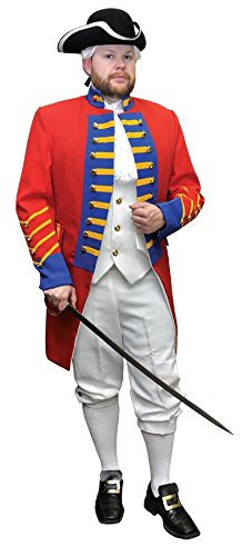 British Revolution Officer Costume Large