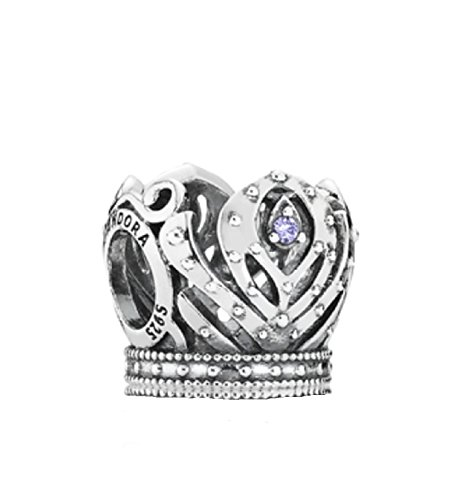Pandora Disney Anna's Crown with Purple Cubic Zirconia