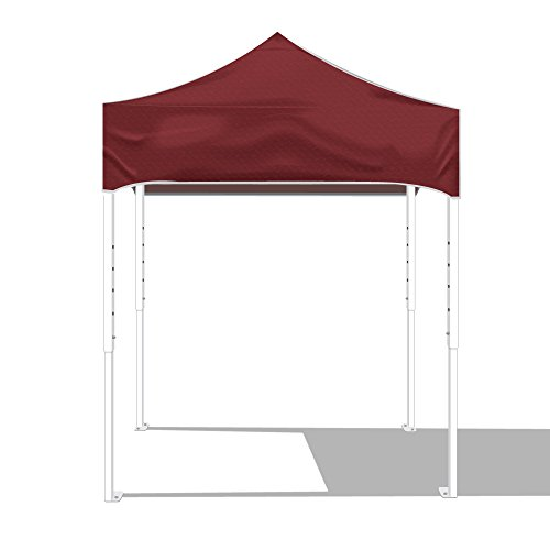 Kd Kanopy Ps64M Party Shade Steel Frame Indoor/Outdoor Portable Canopy, 8 By 8-Feet, Maroon