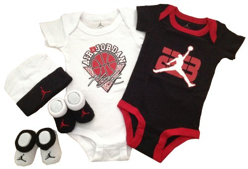 Nike Jordan Infant New Born Baby Layette Set