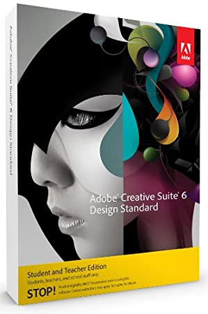Adobe Creative Suite 6  Design Standard, Student and Teacher Version (PC)