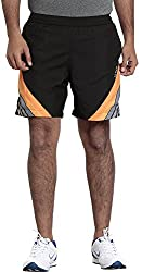 Seven Men's Polyester Shorts (SS16APPM014-2, Black, XXL)
