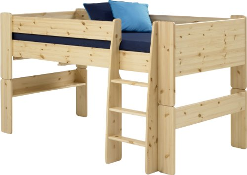 steens-kids-mid-sleeper-bed-frame-with-ladder-natural-lacquer-finish