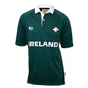Click here to buy Croker Mens Traditional Irish Rugby Jersey by Croker.