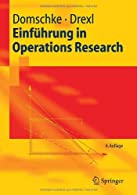 Einf??hrung in Operations Research  by Domschke