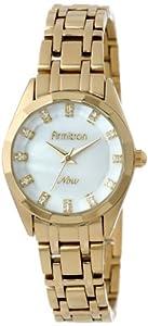 Armitron Women's 75/5119MPGP Swarovski Crystal-Accented Gold-Tone Dress Watch
