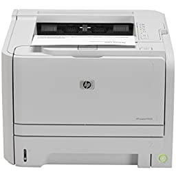 HEWLETT PACKARD Laserjet P2035 Printer Monochrome 1200 dpi x 1200 dpi Up to 25,000 pages