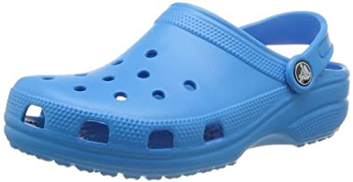 crocs Classic 10001-456-007, Unisex-Erwachsene Clogs & Pantoletten, Blau (Ocean  456), EU 39/40