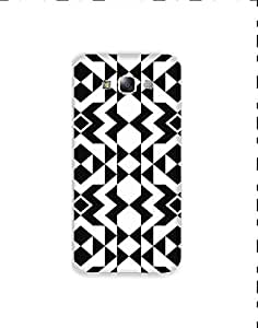 Samsung Galaxy E7 Monochrome-geometric-pattern-01 Mobile Case (Limited Time Offers,Please Check the Details Below)