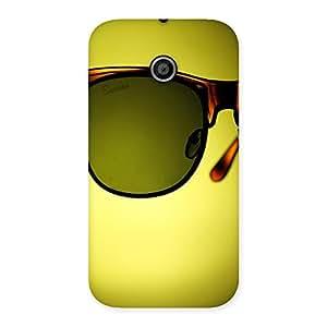 Ajay Enterprises Wo Eye Glass Back Case Cover for Moto E