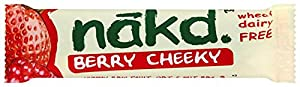 Nakd Berry Cheeky Bar 30 g (Pack of 18)