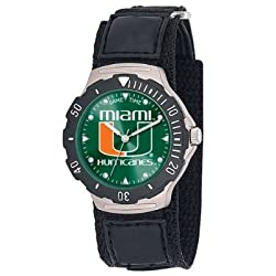 Game Time Unisex COL-AGV-MIA Miami Agent Velcro Watch