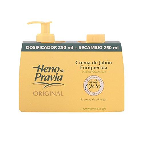 HENO DE PRAVIA - JABON LIQUIDO original 250 ml + recambio 250 ml-unisex