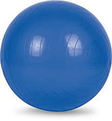 Fit24 Fitness 75Cm Gym Ball With Foot Pump