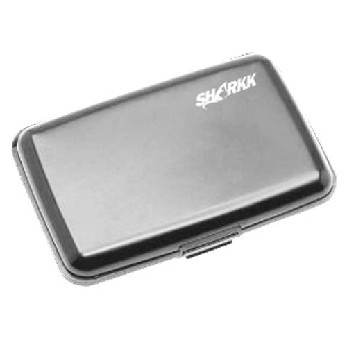 SHARKK Aluminum Wallet Credit Card Holder With RFID Protection Made By SHARKK Brands