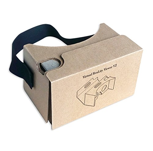Lowest Price! Blisstime Google Cardboard V2.0 3D Glasses VR Virtual Reality Cardboard Kit 2015 with ...
