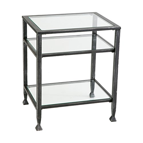 SEI Bunching Metal End Table