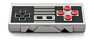 Dream NES30 Anniversary Classic Retro Editon Bluetooth Gamepad NES Style Game Controller w/ Xstand Supports 2 Players for iOS, Android Gamepad and PC Mac Linux