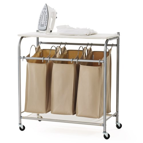 neatfreak U5479-EFST Triple Sorter with Ironing Board and Everfresh (Ironing Board System compare prices)