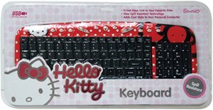 Hello Kitty Multimedia Computer Keyboard