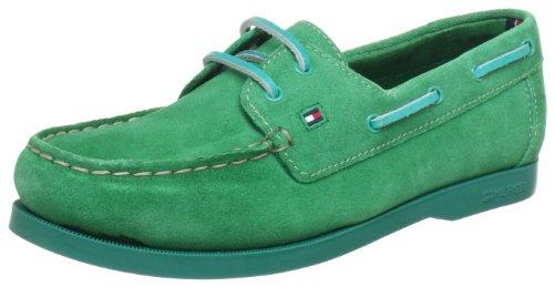Tommy Hilfiger SAIL 1B Ankle Boots Unisex-Child Green Grün (PARAKEET 318) Size: 35