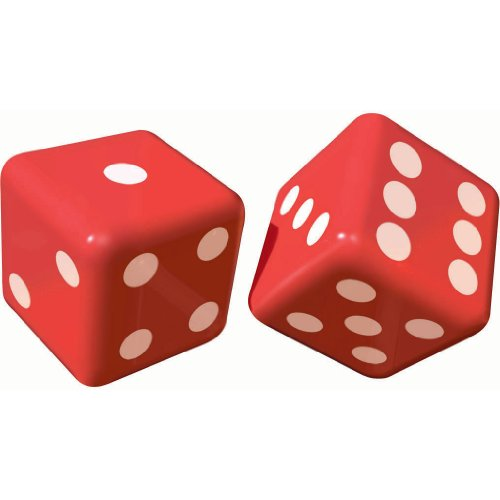 Inflatable Dice, 2ct