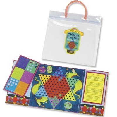 Eeboo Magnetic Chinese Checkers Travel Game - 1