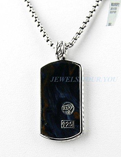david-yurman-st-silver-grande-pietersite-collar-con-chapa-para-perro-cadena-22-cm-350