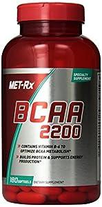 MET-Rx BCAA 2200, 180 Count