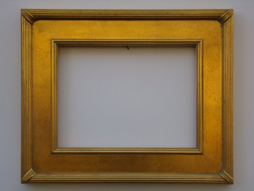 Picture Frame - Plein Air / Portrait / Canvas Gold Leaf Ribbed Whistler Style Wood 9x12/9 x 12
