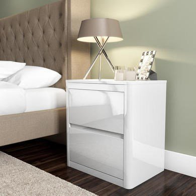 white-high-gloss-bedside-table-2-drawers-modern-design